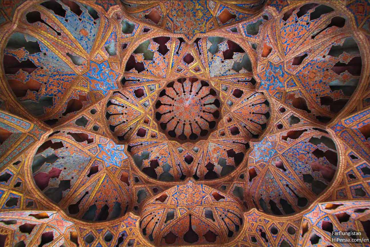 ISFAHAN Pavilion of Ali Qapou- the music room