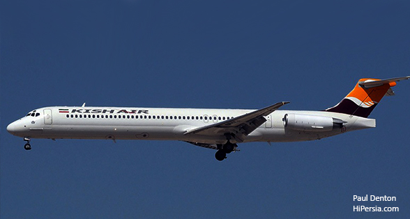 Kish Air is one of the Iran Airlines.